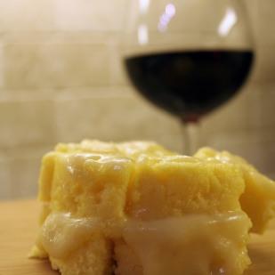 Cheesy Polenta   https://pastaandco.wordpress.com/2013/03/19/cheesy-polenta/