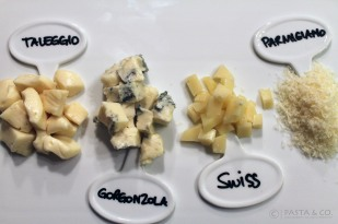 Yummy Four Cheeses Pennette | Pasta ai Quattro Formaggi http://bit.ly/4cheeses