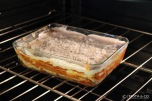 Lasagna | Cover with Bechamel and place in the oven
