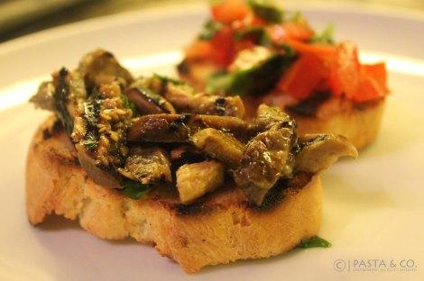 Bruschetta Eggplant