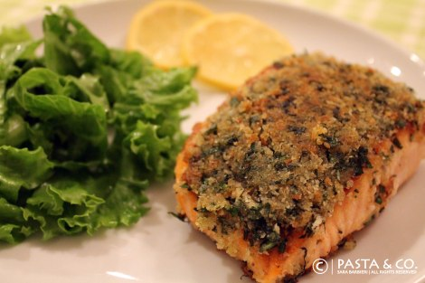Herb Crusted Verlasso Salmon