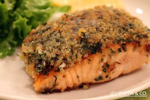 Herb Crusted Verlasso Salmon_Closeup