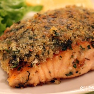 Herb Crusted Verlasso Salmon_Closeup