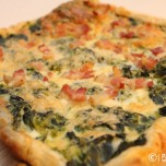 Quiche w-Chard, Bacon & Eggs
